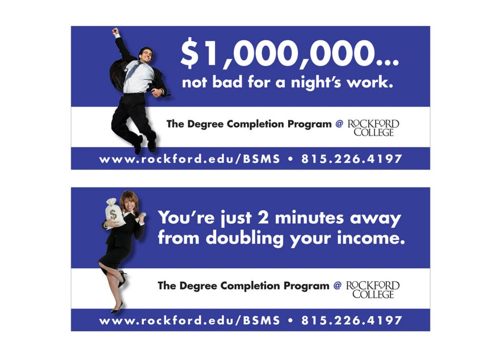 Outdoor Advertising Rockford University