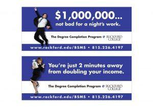 Outdoor Advertising Rockford University